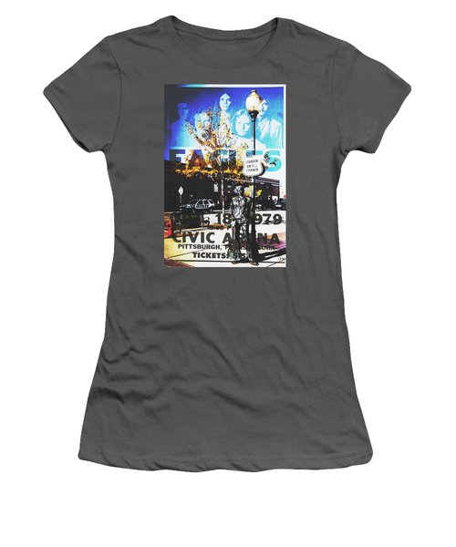 Standin On The Corner Women's T-Shirt (Athletic Fit)