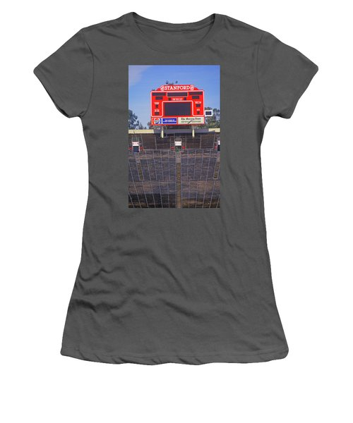 Stanford University Stadium In Palo Women's T-Shirt (Athletic Fit)