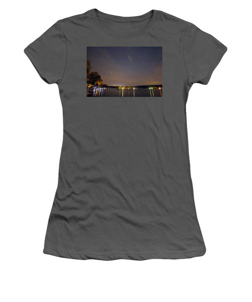 Stars Over Conesus Women's T-Shirt (Athletic Fit)