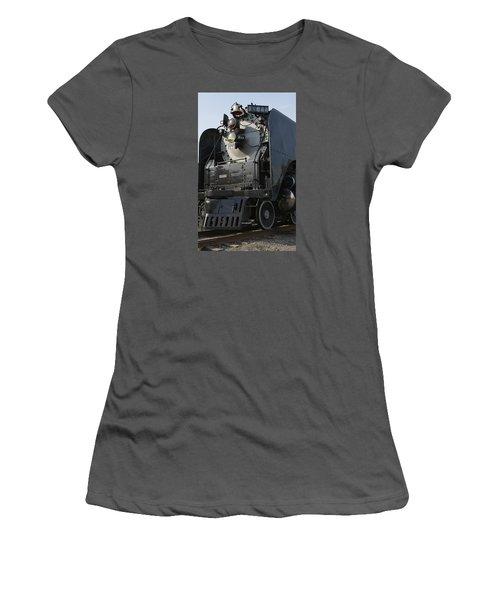 Steam Engine U P 844 Women's T-Shirt (Junior Cut) by Jane Eleanor Nicholas