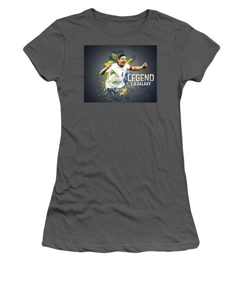 Steven Gerrard Women's T-Shirt (Athletic Fit)