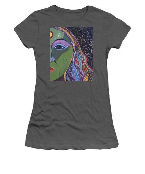 Still A Mystery 5 Women's T-Shirt (Junior Cut) by Helena Tiainen