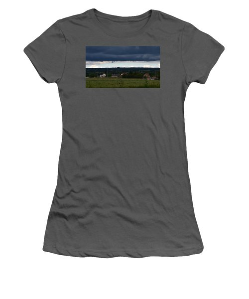 Stormy Countryside Women's T-Shirt (Athletic Fit)