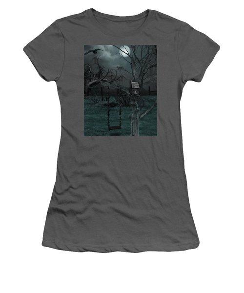 Strange Eyedea Women's T-Shirt (Athletic Fit)