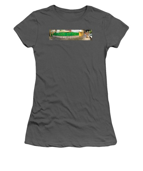 Street Scene - Mexico City Women's T-Shirt (Junior Cut) by Sean Griffin