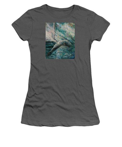 Struggling... Women's T-Shirt (Junior Cut) by Xueling Zou