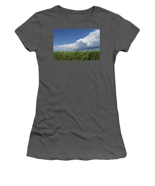 Suffolk Skies Women's T-Shirt (Athletic Fit)