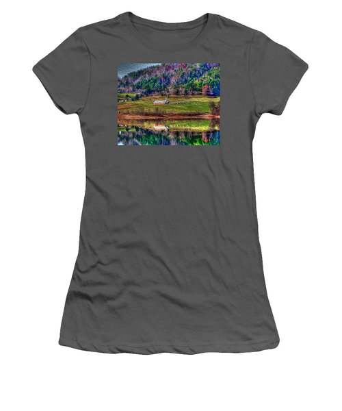 Sugar Grove Reflection Women's T-Shirt (Athletic Fit)