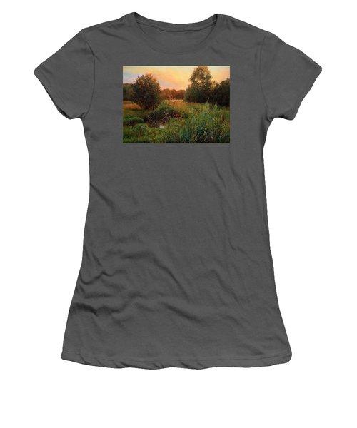 Summer Evening Women's T-Shirt (Athletic Fit)