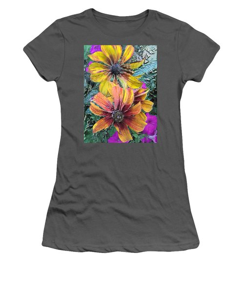 Summer Flowers One Women's T-Shirt (Athletic Fit)