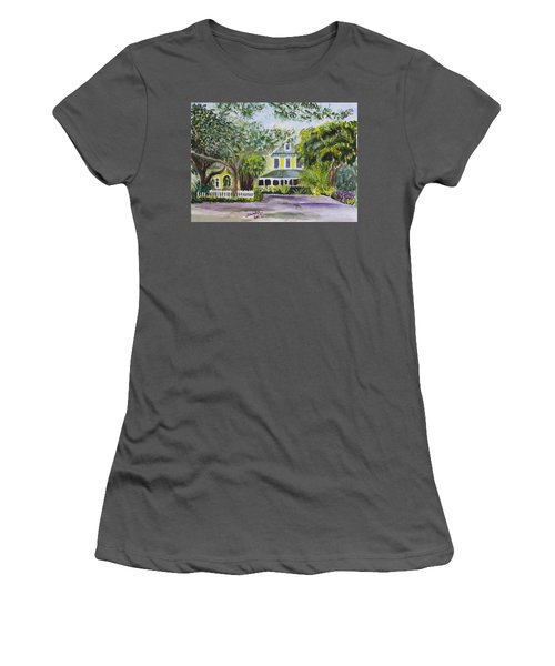 Sundy House In Delray Beach Women's T-Shirt (Athletic Fit)
