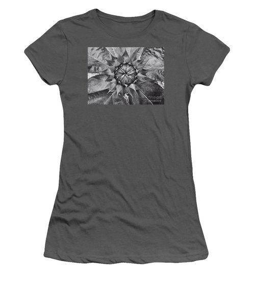 Sunflower's Shades Of Grey Women's T-Shirt (Athletic Fit)