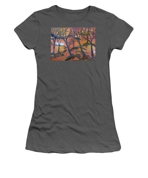 Sunlit Forest Women's T-Shirt (Athletic Fit)