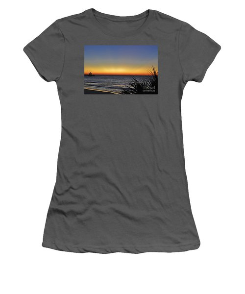 Sunrise At Folly Women's T-Shirt (Athletic Fit)