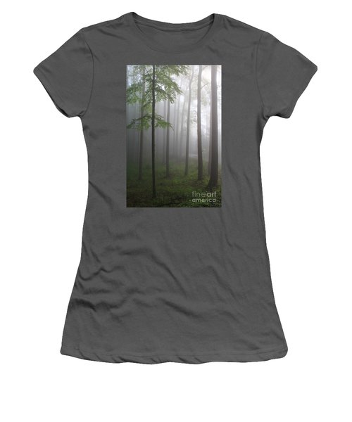 Sunrise Fog Women's T-Shirt (Athletic Fit)