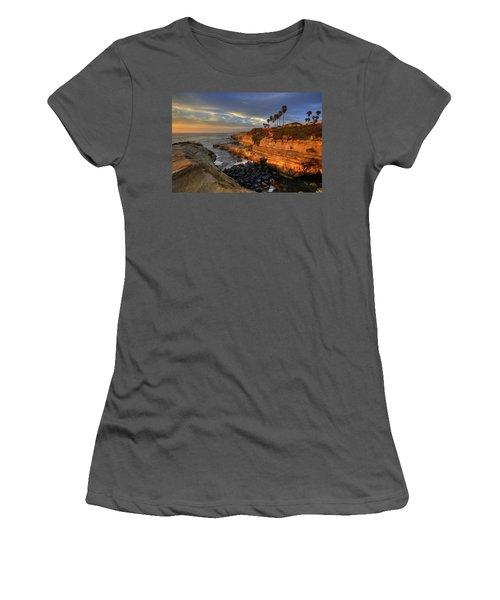 Sunset Cliffs Women's T-Shirt (Athletic Fit)