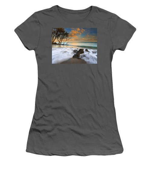 Sunset In Paradise Women's T-Shirt (Junior Cut) by Mike  Dawson