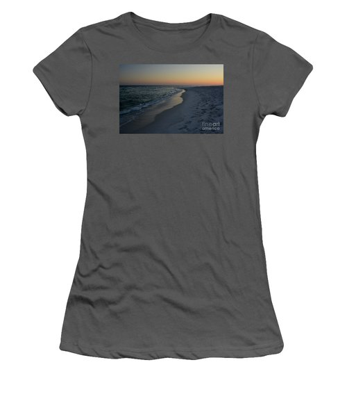 Sunset Navarre Beach Women's T-Shirt (Athletic Fit)