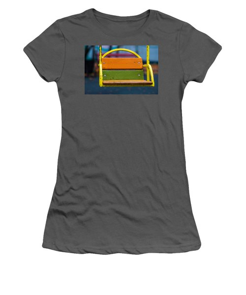 Swinging Rain - Featured 3 Women's T-Shirt (Junior Cut) by Alexander Senin