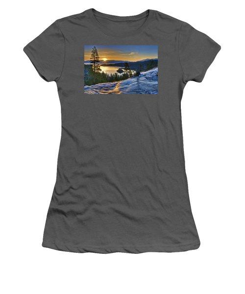 Tahoe Sunrise Women's T-Shirt (Athletic Fit)