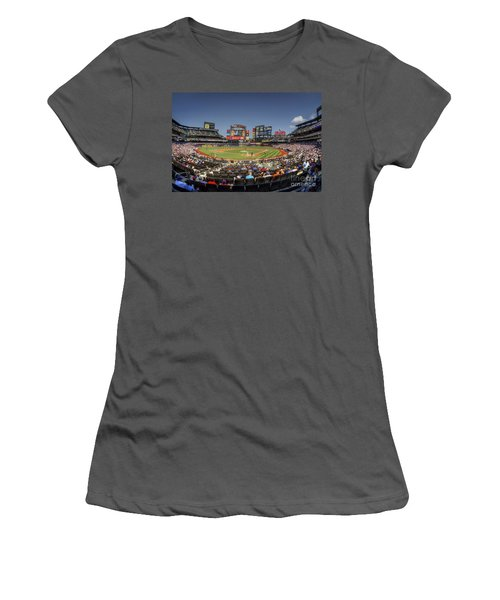 Take Me Out To The Ballgame Women's T-Shirt (Athletic Fit)