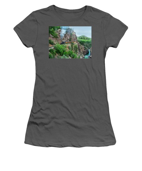 Taking The Highline Home Women's T-Shirt (Athletic Fit)