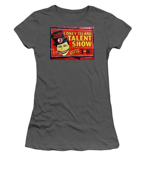 Talent Show Women's T-Shirt (Athletic Fit)