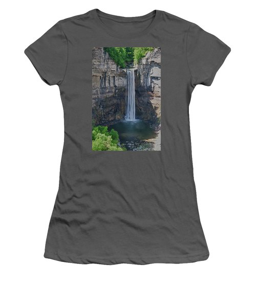 Taughannock Falls  0453 Women's T-Shirt (Athletic Fit)
