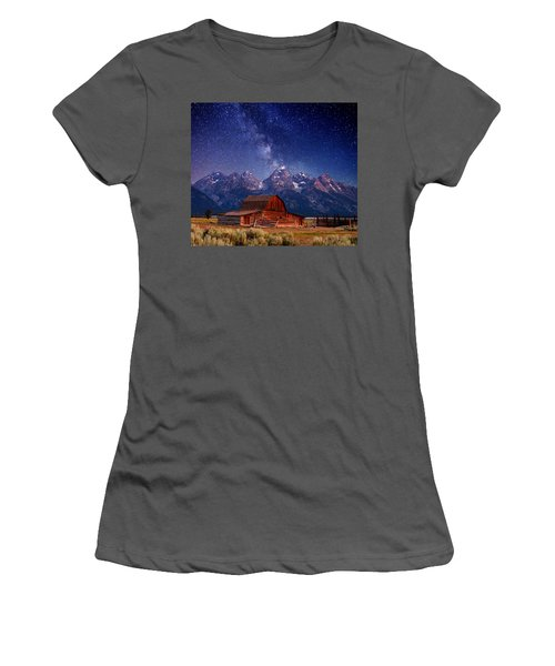 Teton Nights Women's T-Shirt (Athletic Fit)
