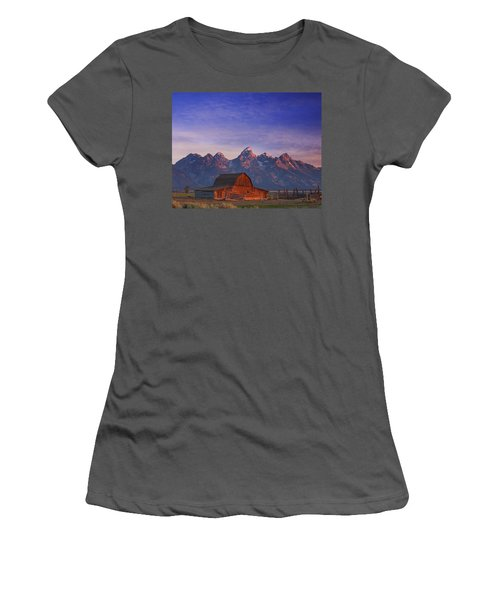 Teton Sunrise Women's T-Shirt (Athletic Fit)