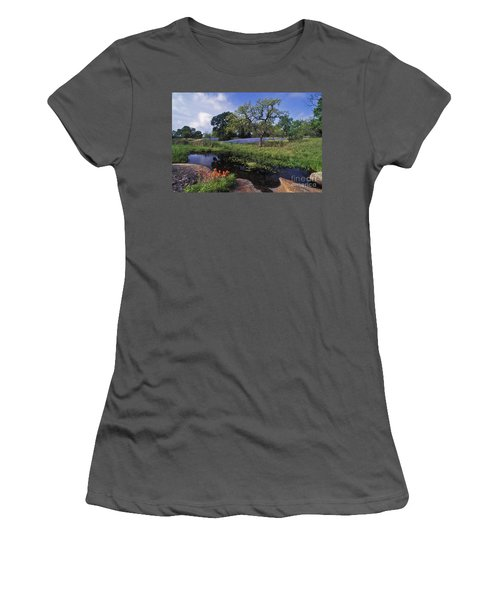 Texas Hill Country - Fs000056 Women's T-Shirt (Athletic Fit)