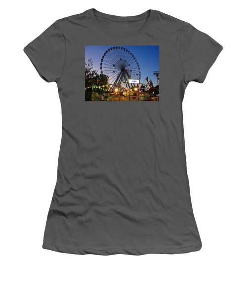 Texas State Fair Women's T-Shirt (Athletic Fit)