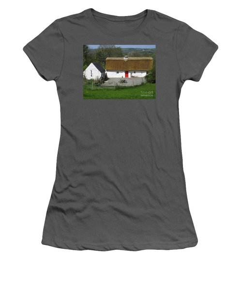 Thatched Cottage Women's T-Shirt (Athletic Fit)