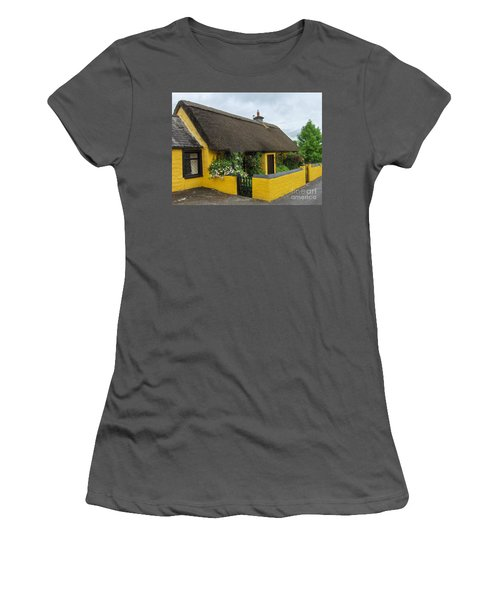 Thatched House Ireland Women's T-Shirt (Junior Cut) by Brenda Brown