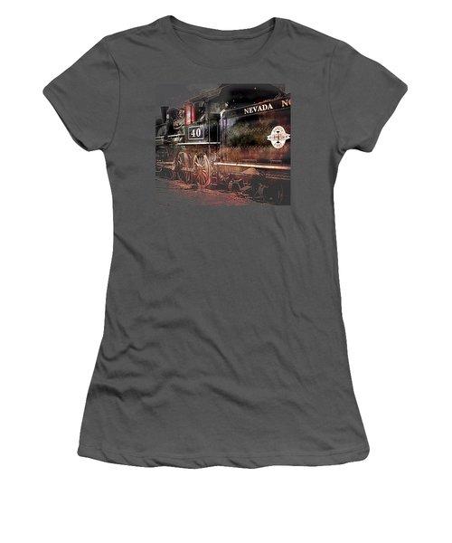 The Baldwin Women's T-Shirt (Junior Cut) by Gunter Nezhoda