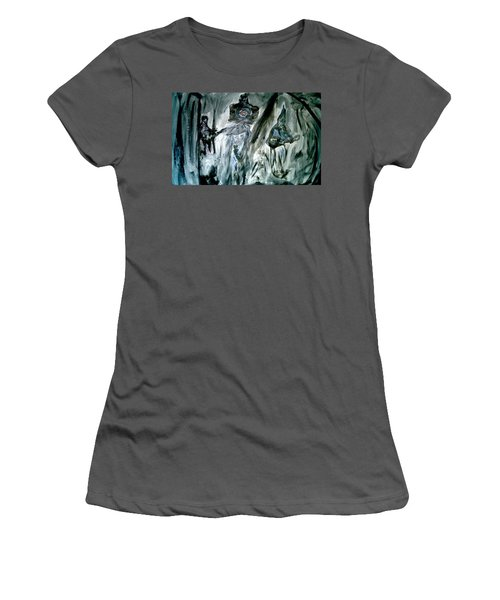 The Band Playing Women's T-Shirt (Athletic Fit)