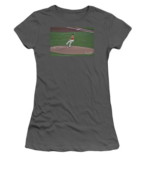 The Big Pitcher Women's T-Shirt (Athletic Fit)