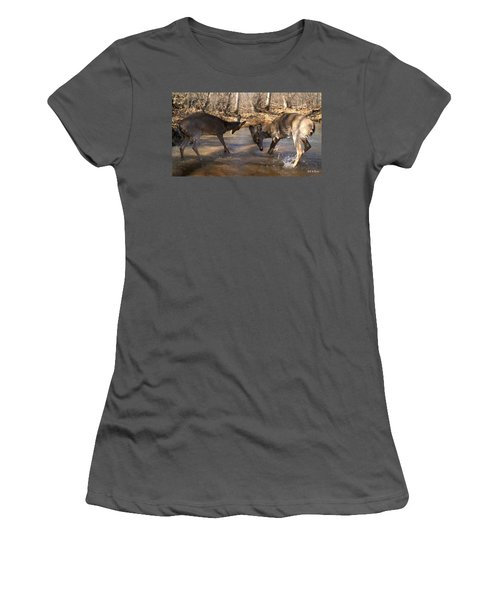 The Bill And Mike Show Women's T-Shirt (Junior Cut) by Bill Stephens