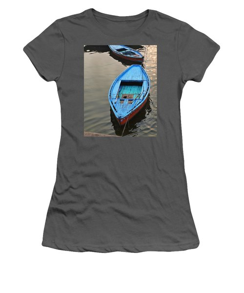 The Blue Boat Women's T-Shirt (Athletic Fit)