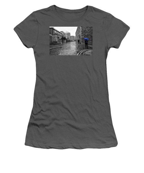 The Blue Umbrella - Sc Women's T-Shirt (Athletic Fit)