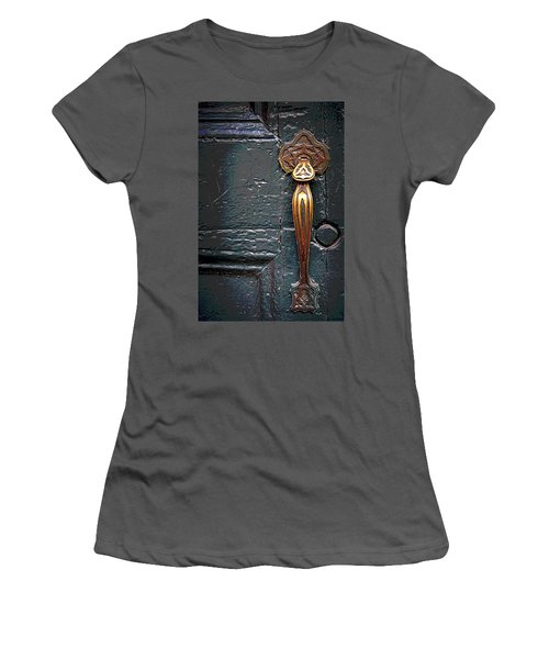 The Brass Latch Women's T-Shirt (Athletic Fit)
