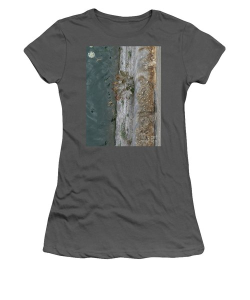 The Canal Water Women's T-Shirt (Junior Cut) by Brenda Brown