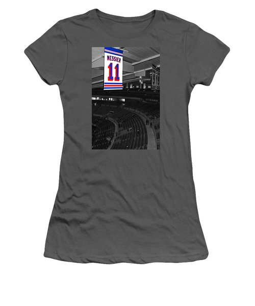 The Captain Looks Over Women's T-Shirt (Athletic Fit)