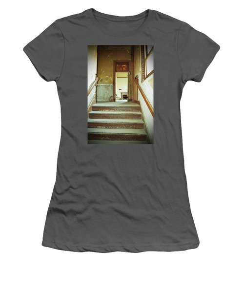 The Chair At The Top Of The Stairs Women's T-Shirt (Athletic Fit)