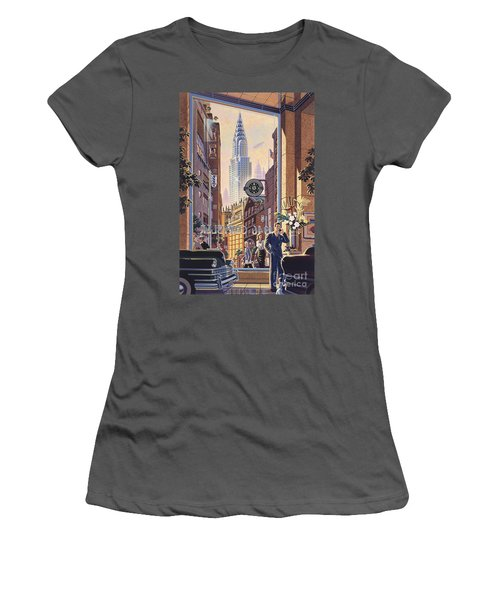 The Chrysler Women's T-Shirt (Athletic Fit)
