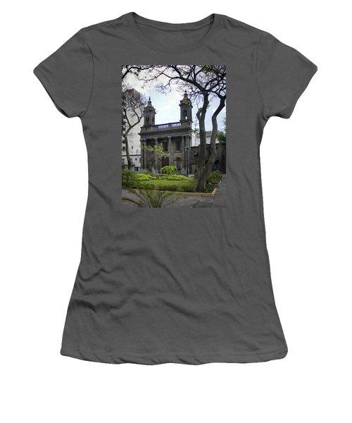 The Church Green Women's T-Shirt (Junior Cut) by Lynn Palmer