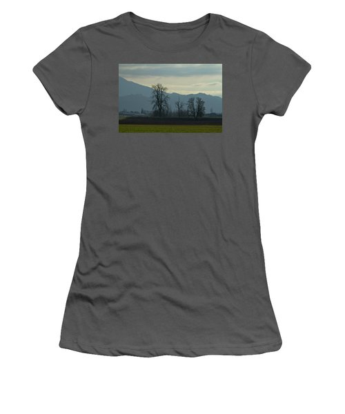Women's T-Shirt (Junior Cut) featuring the photograph The Eagle Tree by Eti Reid