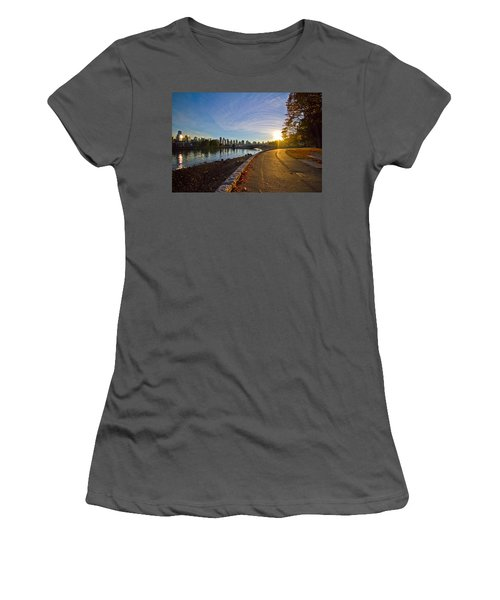 Women's T-Shirt (Junior Cut) featuring the photograph The Emerald City by Eti Reid