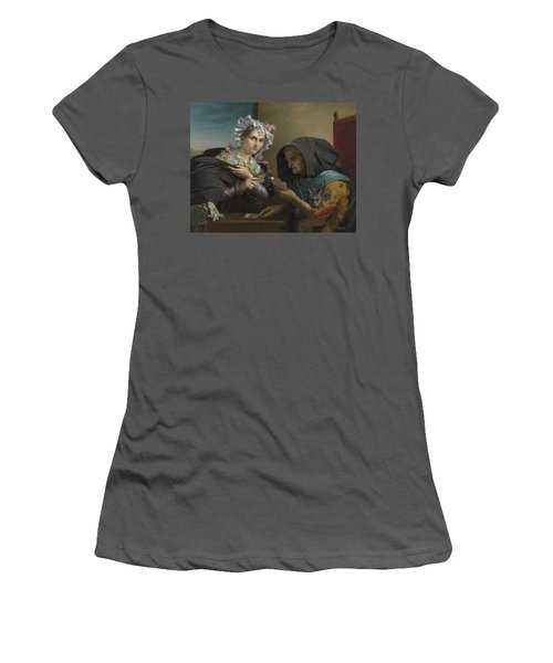The Fortune Teller Women's T-Shirt (Junior Cut) by Adele Kindt