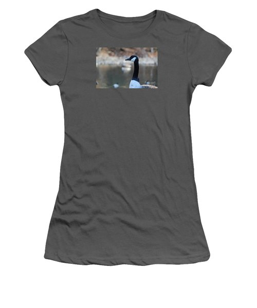 Women's T-Shirt (Junior Cut) featuring the photograph The Gander by David Jackson
